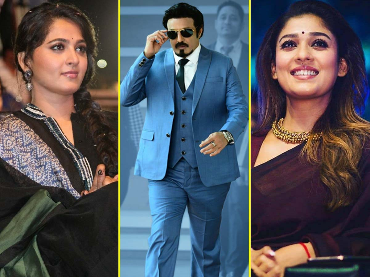 Balakrishna interest on Nayantara and Anushka Shetty?