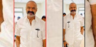 Balakrishna new look for Boyapati Srinu film a stunner