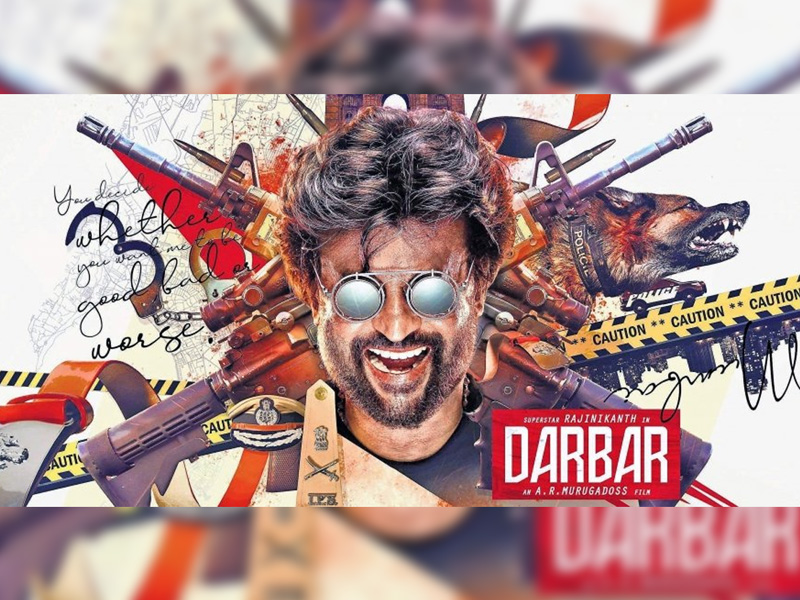 Darbar 5 Days Telugu States Collections