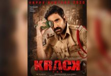 First Look Poster of Krack: Ravi Teja looks pensive yet menacing