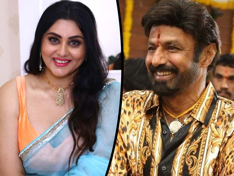 Its Namitha for Balakrishna
