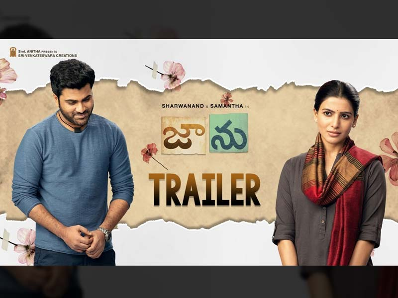 Jaanu Trailer review Heart touching love story of Samantha and Sharwanand