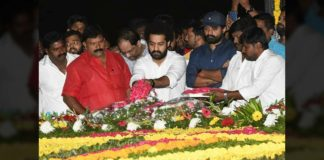 Legend NTR 24th death anniversary Jr NTR Nandamuri Kalyanram pay their tribute