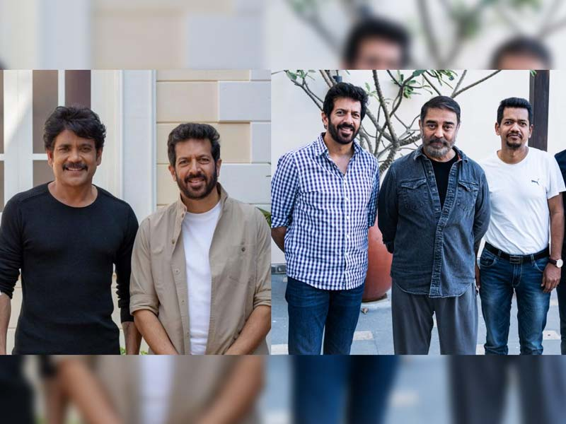 Nagarjuna and Kamal Haasan  join hands for 83