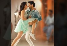 Nithiin lifts Rashmika Mandanna Leg
