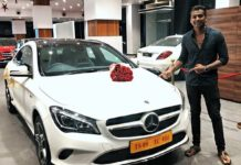 Rahul Sipligunj gifts himself Mercedes Benz car