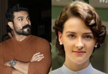Ram Charan fighting sequence involves Olivia Morris