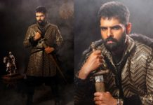 Ram Pothineni tries a Royal look in Kingly manner