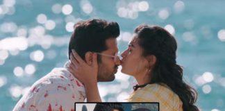 Rashmika Mandanna kisses Nithiin