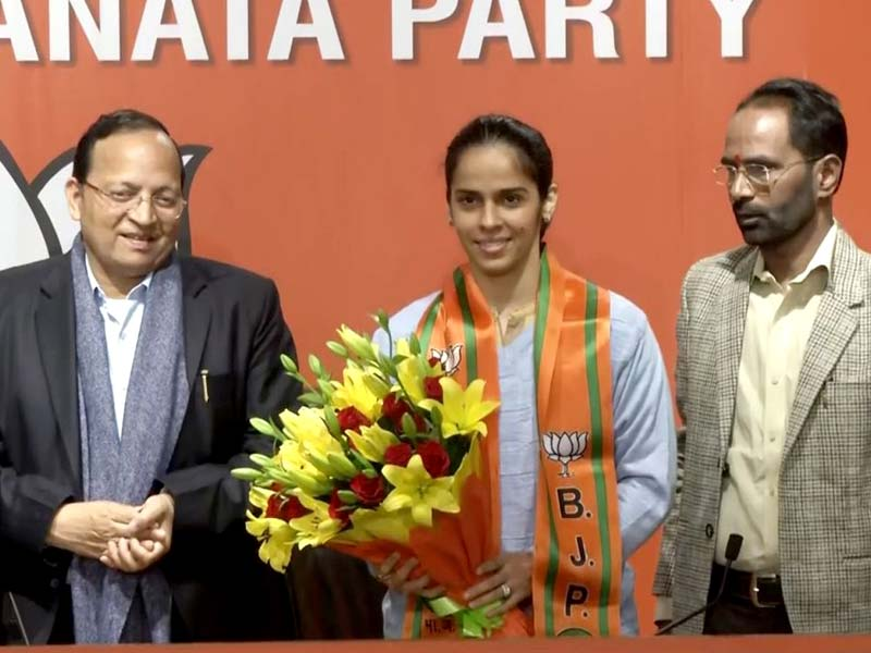 Saina Nehwal Joins BJP