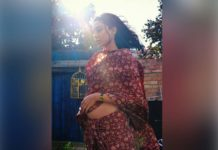 Unmarried Pregnant Telugu actress obsessed with her baby