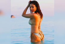 Sophie Choudry flaunts toned figure in poise
