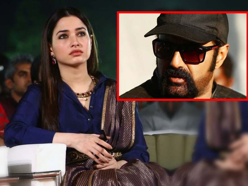 Tamannah Bhatia indirect message shocks Balakrishna