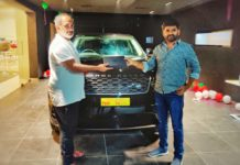 Token of appreciation! Maruthi gets new Range Rover