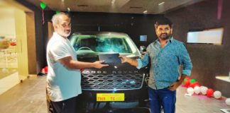 Token of appreciation! Maruthi gets new Range Rover