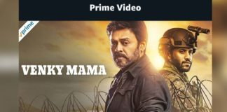 Venky Mama on Amazon Prime now