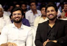 Vijay Deverakonda gifted custom-made rowdy shirts to Allu Arjun
