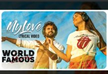 World Famous Lover 1st Single My Love Review