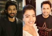 Allu Arjun double congratulation to Nithiin