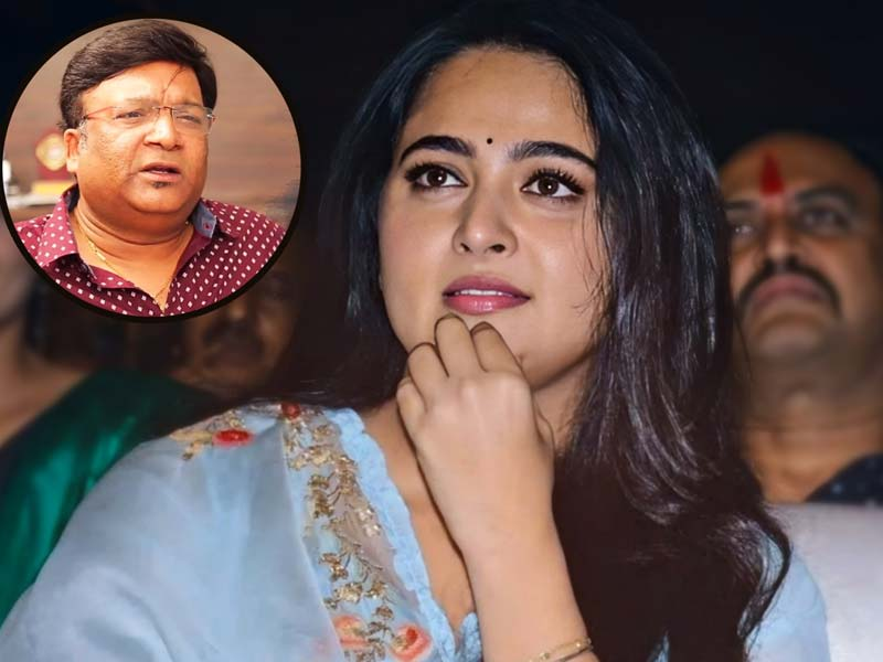 Anushka Shetty feeling uncomfortable with Kona Venkat