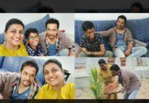 Arjun Sarja joins Green India challengewithRoja