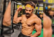 Arya amazing transformation : Ripped look