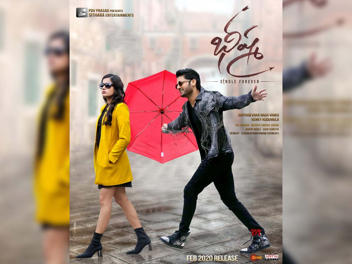 Bheeshma 1st Day Telugu States Collections
