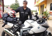 Bike Stunt shoot leaves Ajith injured