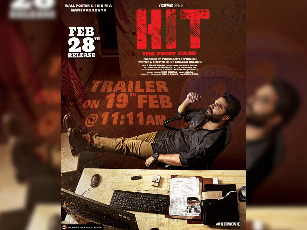 HIT trailer Review : Mind Bending Thriller