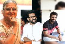 Infosys Sudha Murthy praises Ram Charan and Vijay Deverakonda
