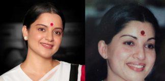 Kangana Ranaut striking resemblance to Jayalalithaa