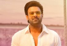 Lavish lake and train set for Prabhas