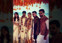 Mahat Raghavendra, Prachi Mishra beach side wedding