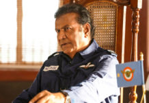 Mohan Babu in Air Force Uniform First Look from Aakasam Nee Haddura
