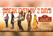 Nandu Savaari Break-even in 2 Days