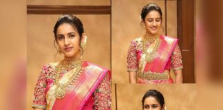 Niharika Konidela Traditional look viral