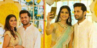 Nithiin and Shalini engaged