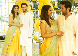 Nithin engagement with Shalini