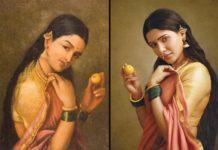 Poser Samantha is mesmerizing, Art of Ravi Varma