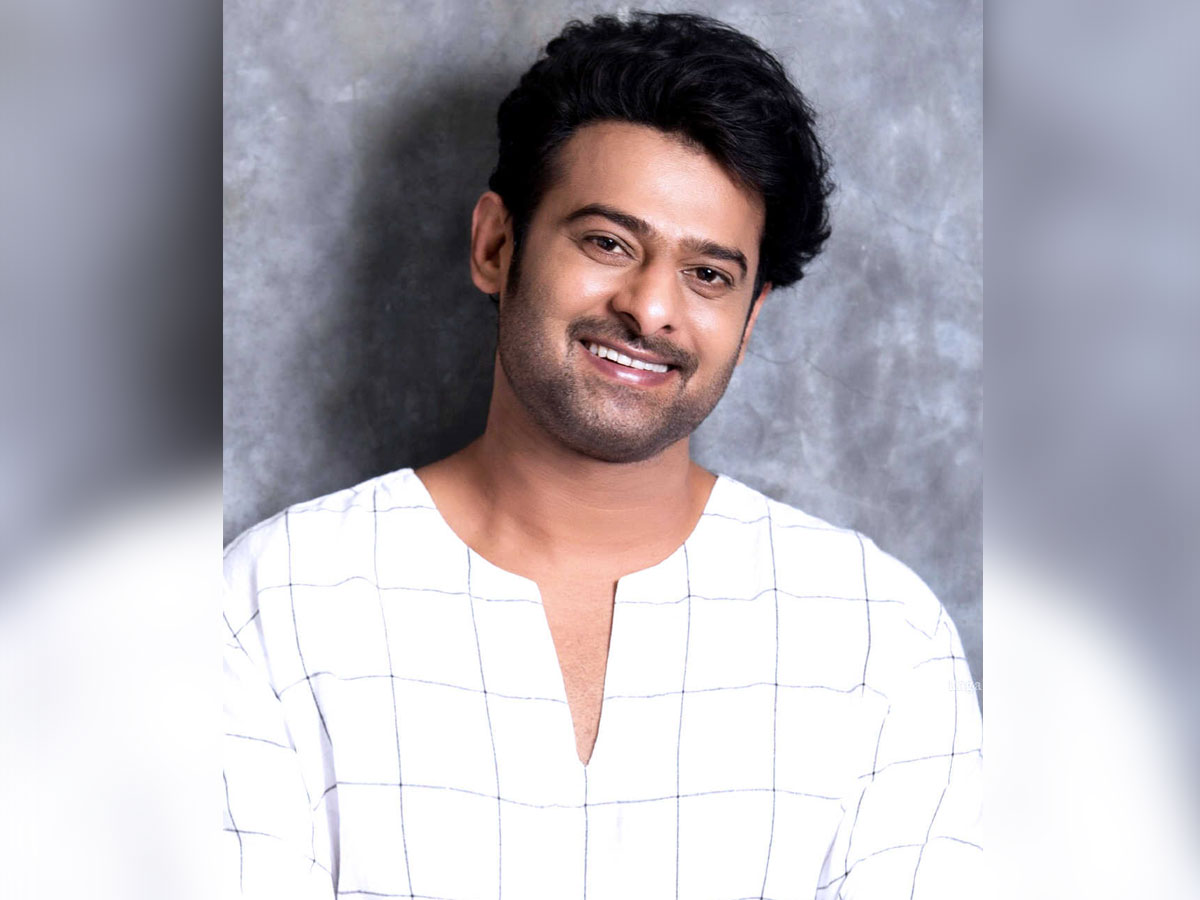 Prabhas First Look from Next on U Day