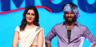 Raashi Khanna scares Vijay Deverakonda