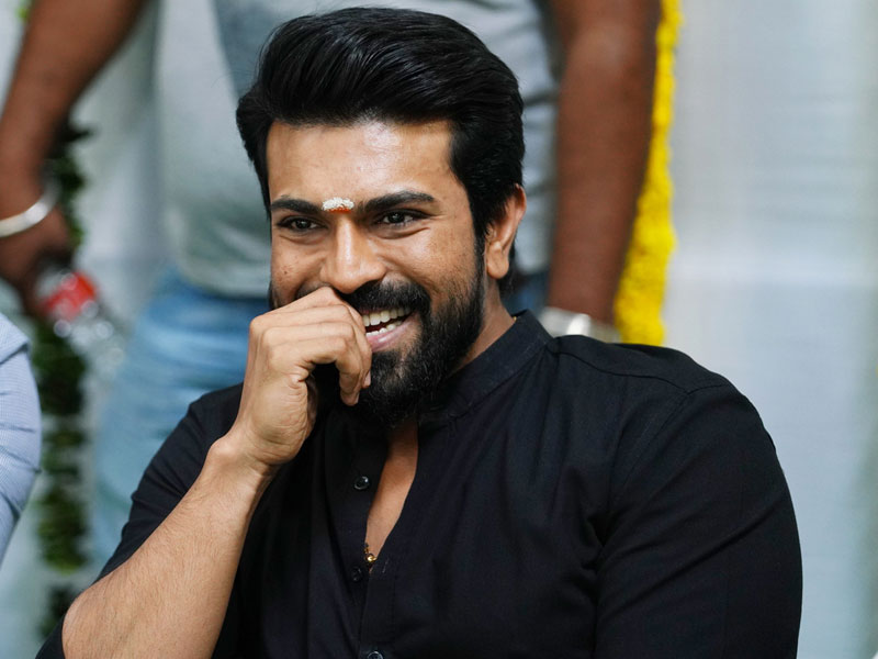 Ram Charan first Look from RRR on this date