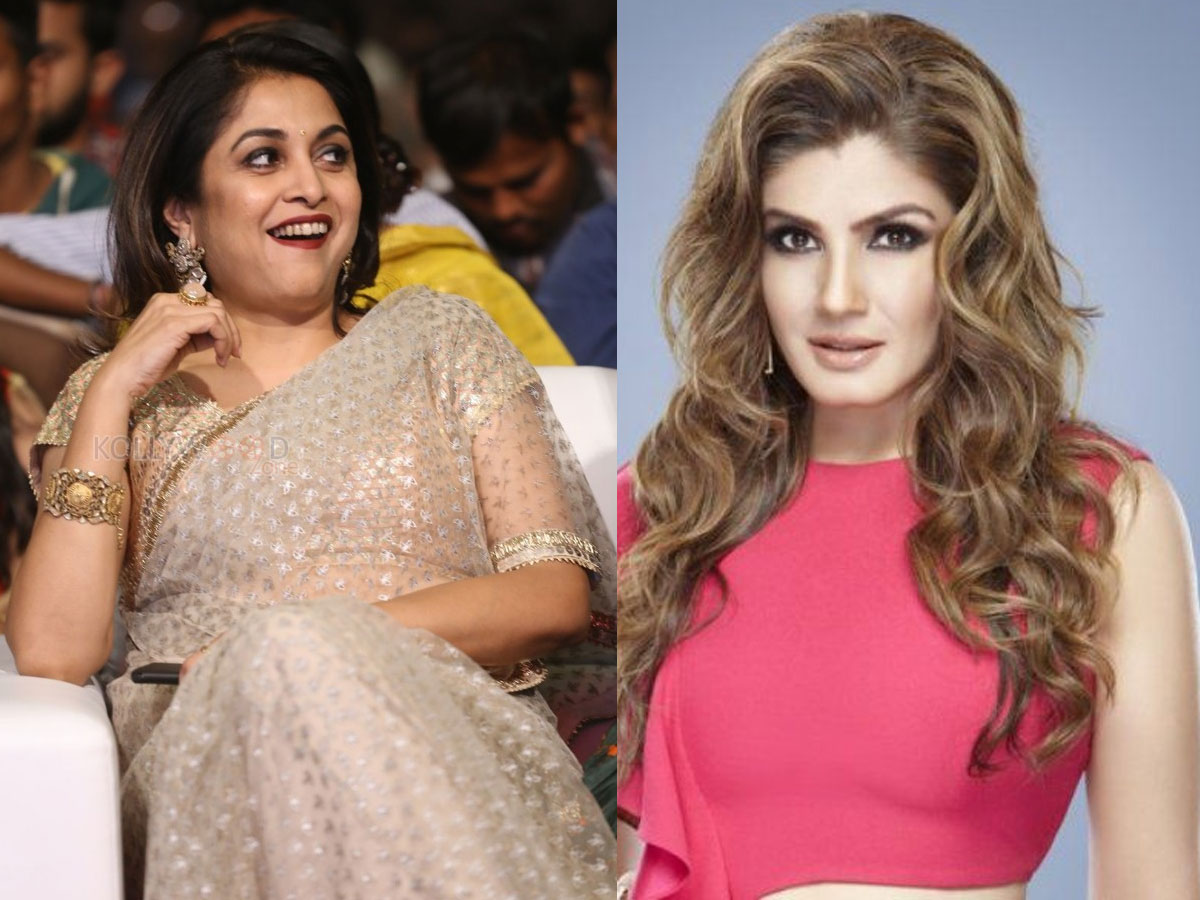 Ramya Krishna rejected, Prabhas lady crush accepted