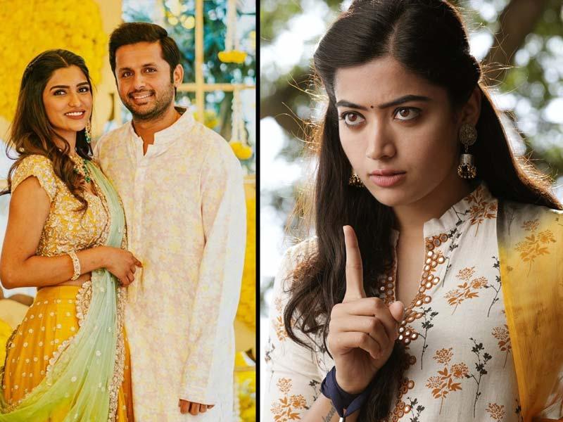 Rashmika Mandanna comments on Nithiin marriage
