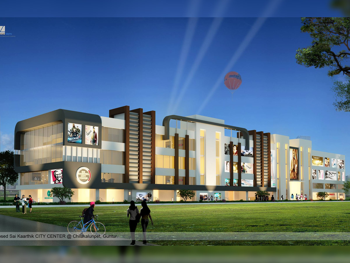 Two Theaters rent in Sai Kaarthik City Center for more details...