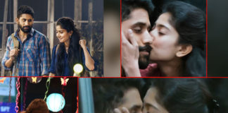 Sai Pallavi strong passionate kiss to Naga Chaitanya