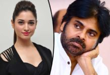 Tamannah comments on Pawan Kalyan