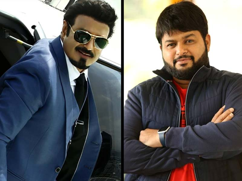 Thaman s special song for Balayya