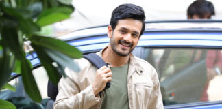 Akhil Akkineni injured right hand elbow