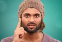 Alert Vijay Deverakonda aks for maintaining distance